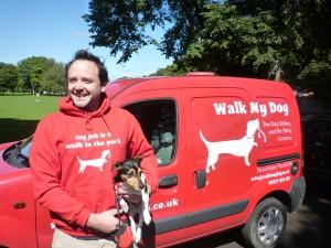 Dog Walker with Van