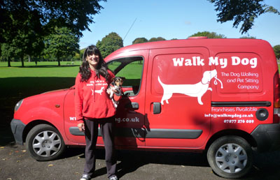 Dog Walking Van